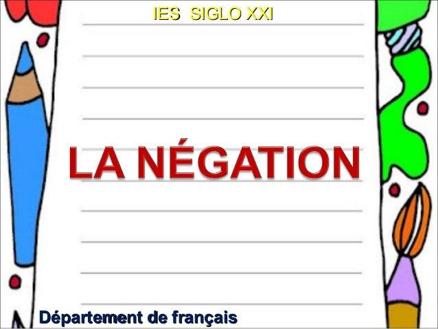 IES SIGLO XXIDépartement de français