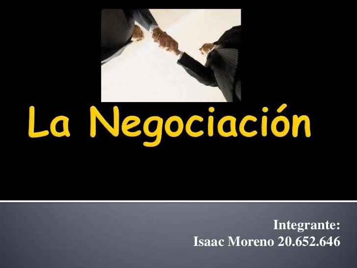 Integrante:Isaac Moreno 20.652.646
