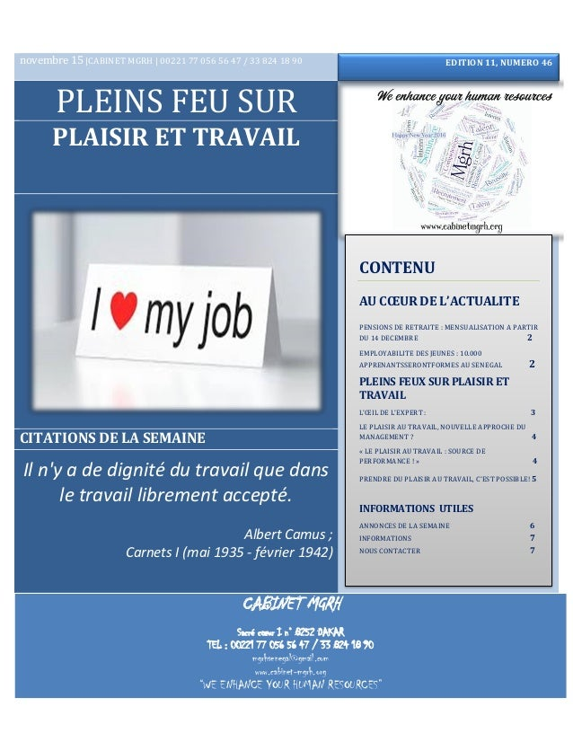 CABINET MGRH Sacré cœur I n° 8252 DAKAR TEL : 00221 77 056 56 47 / 33 824 18 90 mgrhsenegal@gmail.com www.cabinet-mgrh.org...