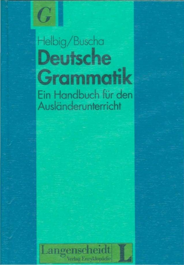 Langenscheidt deutsche grammatik