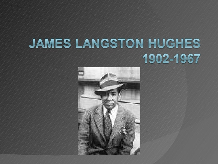 Langston Hughes Powerpoint.Doc