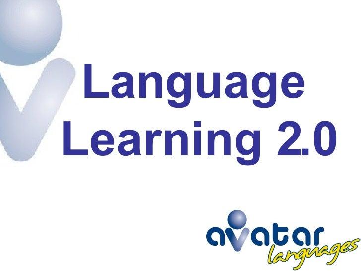 Language  Learning 2.0