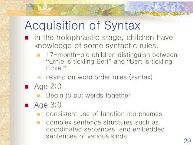 stages of language acquisition pdf
