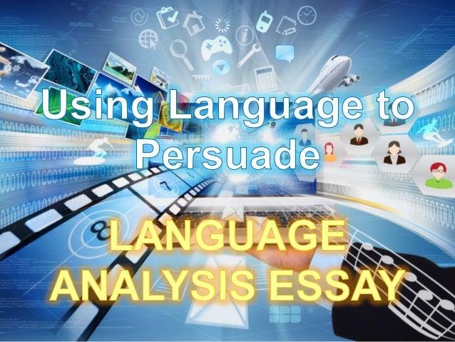 language of advertising essay