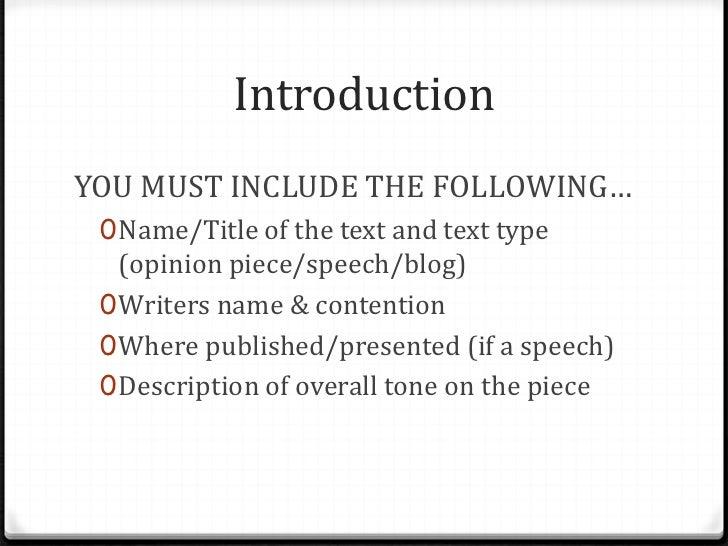 Good topics for analysis essays