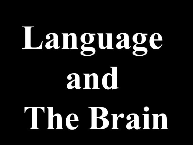 Language  andThe Brain