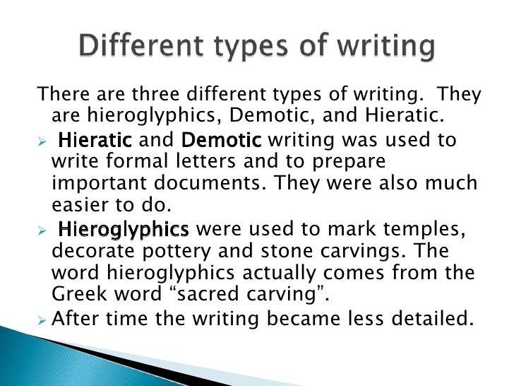 different types of writing Below is a breakdown and brief description of different types of magazine articles it's a good start for journalism students and aspiring freelance writers.