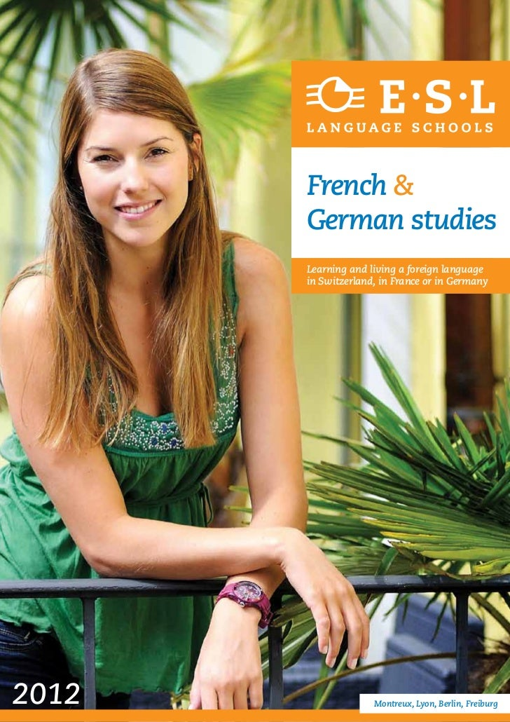 French &       German studies       Learning and living a foreign language       in Switzerland, in France or in Germany20...