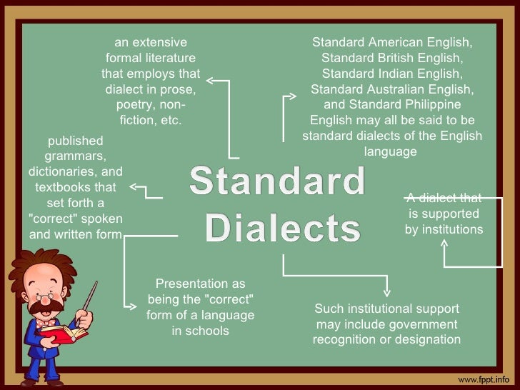 Would it be beneficial for school teachers to understand characteristics of non-standard dialects of children?