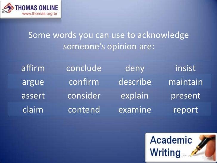 Argumentative language