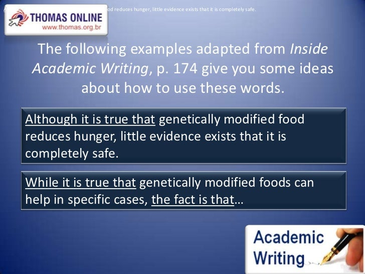 genetically modified food 7 essay Genetically modified foods have become a major concern and have caused controversy regarding both their health and environmental effects.