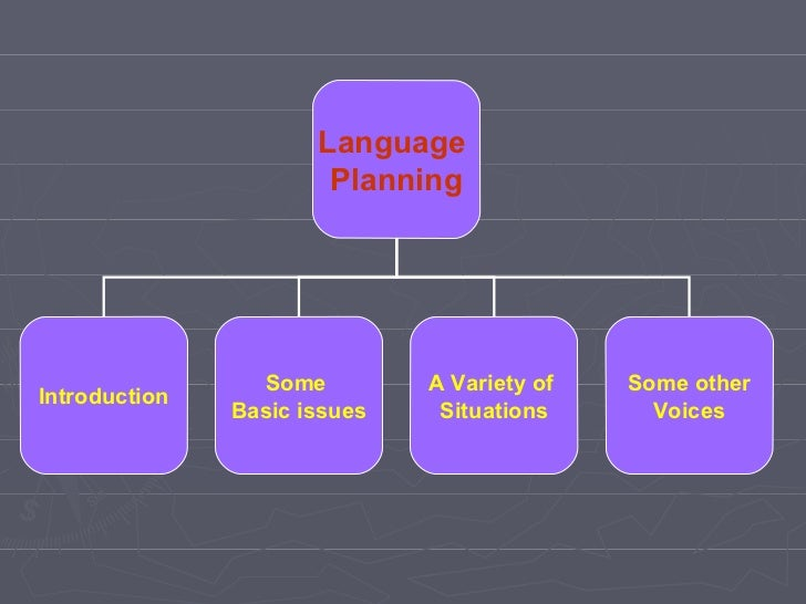 language planning Language problems & language planning   read articles with impact on researchgate, the professional network for scientists.