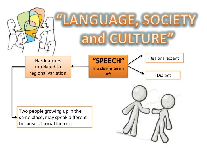 society and its relationship with language The relationship between language and culture posted on july 29, 2010 by laura brooks it's a question that's been pondered for millennia: does language influence culture or is language just a way we express ourselves and our culture.