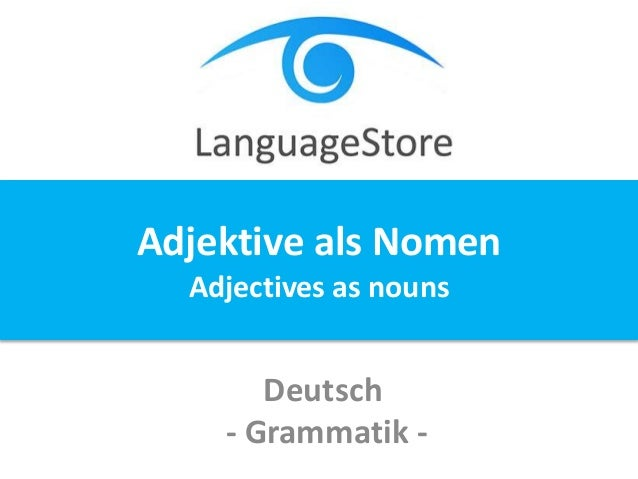 Unterrichtsplanung Deutsch Grammatik Adjektive