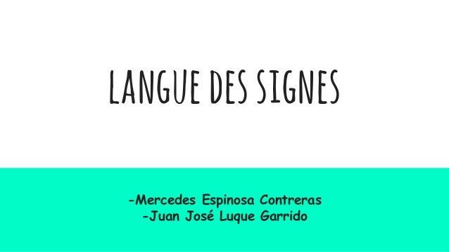 languedessignes -Mercedes Espinosa Contreras -Juan José Luque Garrido