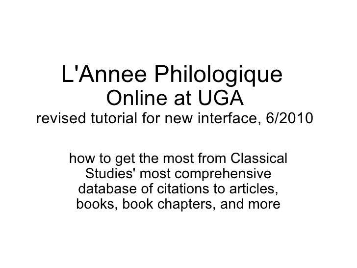 L annee philologique_online_new