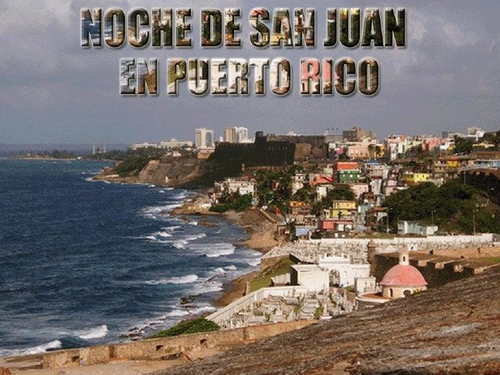 La Noche de San Juan en Puerto Rico