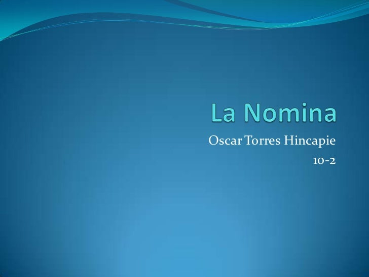 Oscar Torres Hincapie                 10-2