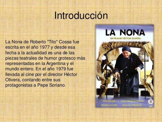 Roberto cossa la nona pdf azratem el asesino de asesinos - La nona porta libro ...