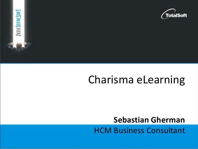 Charisma eLearning Sebastian Gherman HCM Business Consultant