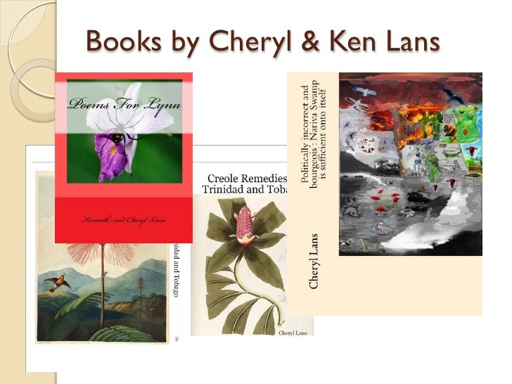 Books by Cheryl & Ken Lans