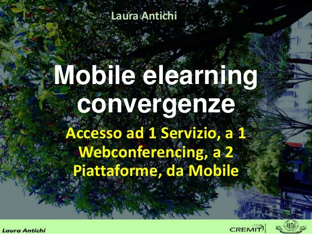 mobile elearning