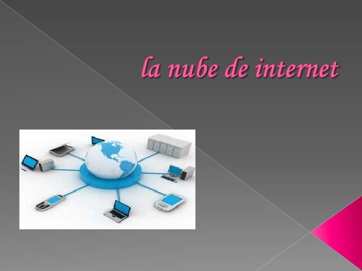 La nube de internet