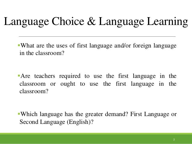 language choice Language choice in multilingual communities - download as pdf file (pdf), text file (txt) or view presentation slides online.