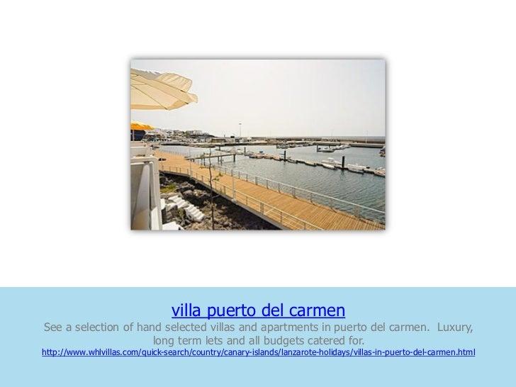 villa puerto del carmenSee a selection of hand selected villas and apartments in puerto del carmen. Luxury,               ...