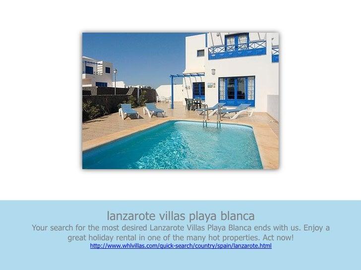 lanzarote villas playa blancaYour search for the most desired Lanzarote Villas Playa Blanca ends with us. Enjoy a         ...