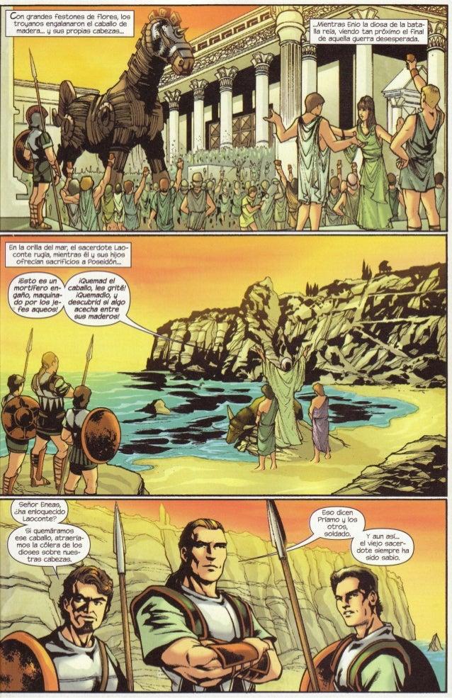Laoconte y el caballo de Troya