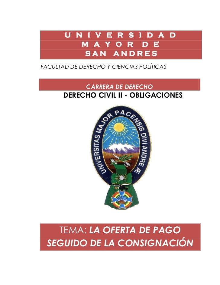 U N I V E R S I D A D           M A Y O R D E            SAN ANDRESFACULTAD DE DERECHO Y CIENCIAS POLÍTICASDE             ...