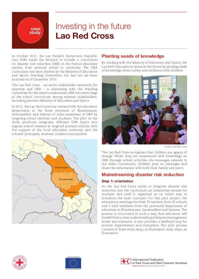 Lao rc drr education