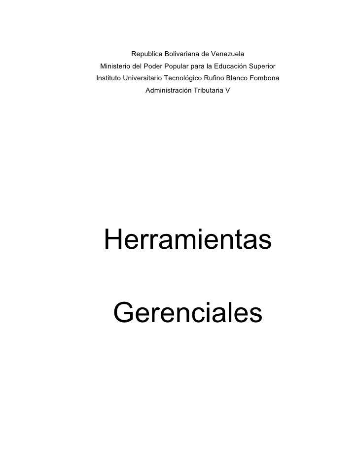 Republica Bolivariana de Venezuela  Ministerio del Poder Popular para la Educación Superior Instituto Universitario Tecnol...