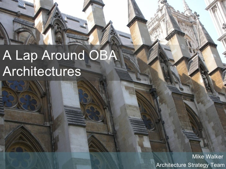 Composite Applications Speaking Tour - Lap Around Office Business Architectures