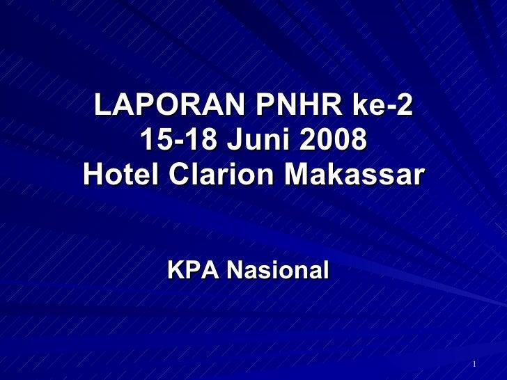 Laporan Pertemuan Nasional Pengurangan Dampak Buruk Narkoba Suntik 2008