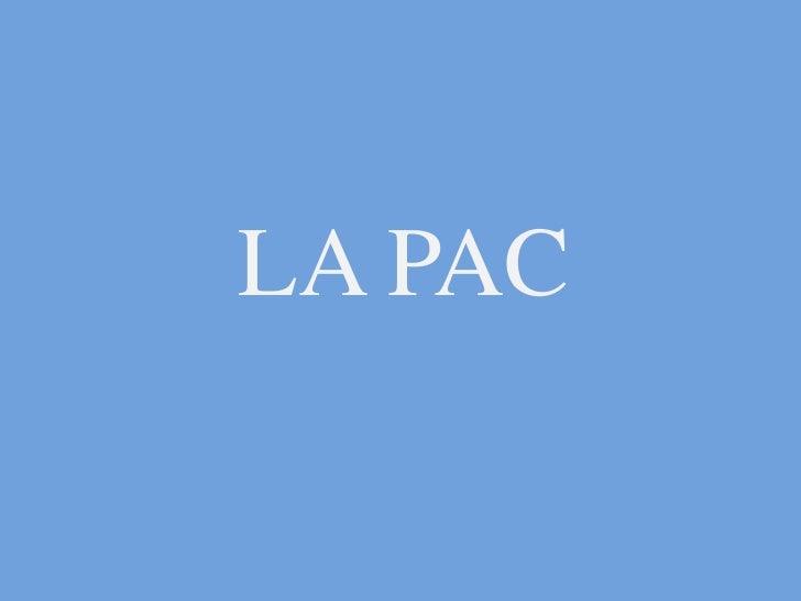 LA PAC<br />
