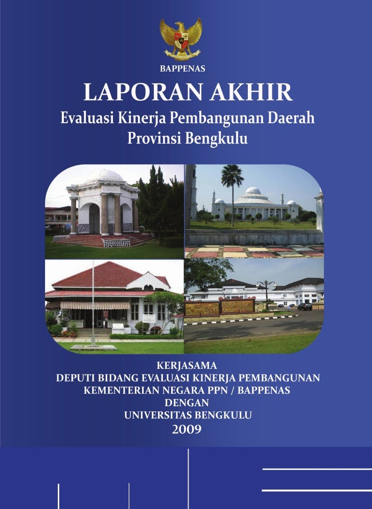 ■ Laporan EKPD 2009 Provinsi Bengkulu                                                                  Kata Pengantar   ...