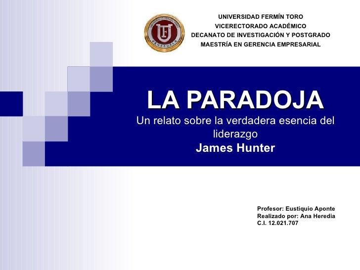 UNIVERSIDAD FERMÍN TORO                 VICERECTORADO ACADÉMICO           DECANATO DE INVESTIGACIÓN Y POSTGRADO           ...