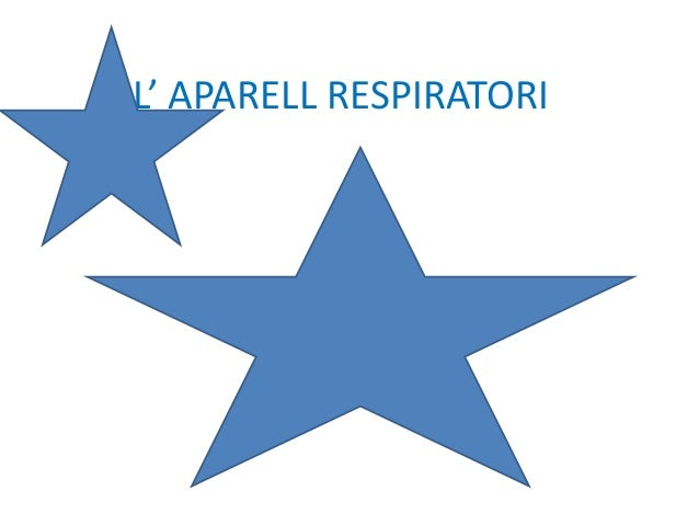 L' APARELL RESPIRATORI