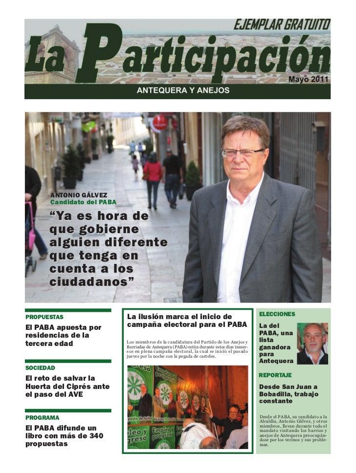La Participación Mayo 2011