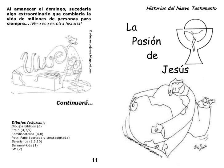 Cómic sobre la Pasión de Jesús