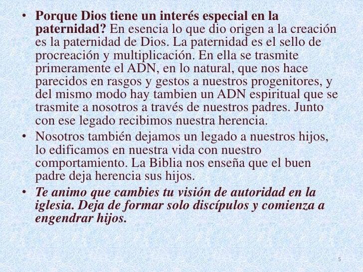 La Paternidad De Dios