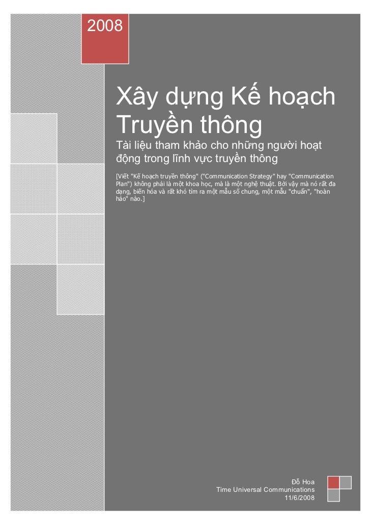 Lap ke hoach_truyen_thong