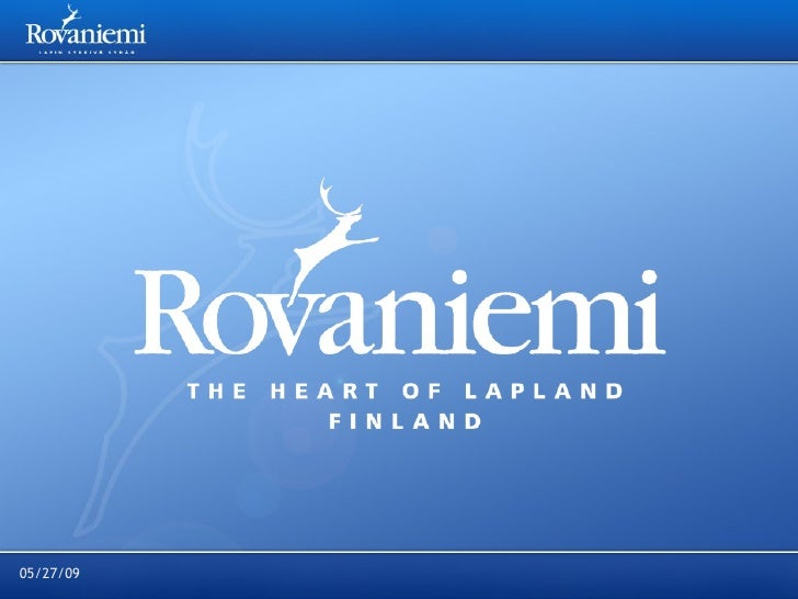 Rovaniemi Tourism presentation