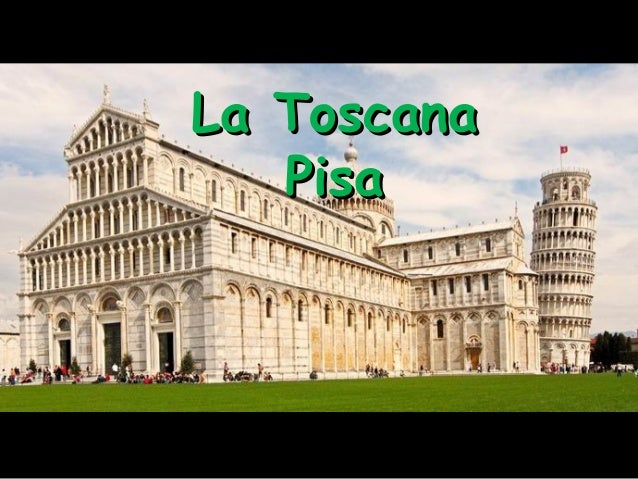 La Plaza de Pisa/ Italy