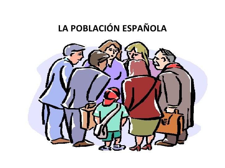 La población española