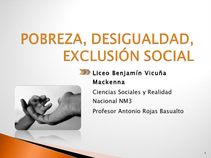<ul><li>Liceo Benjamín Vicuña Mackenna </li></ul><ul><li>Ciencias Sociales y Realidad Nacional NM3 </li></ul><ul><li>Profe...