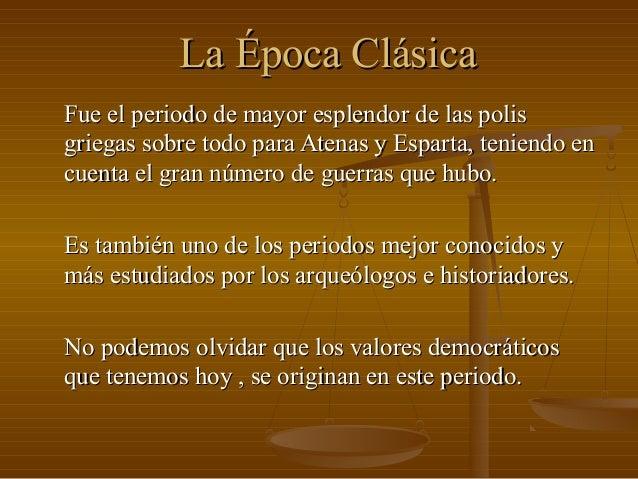 La poca cl sica for Epoca clasica
