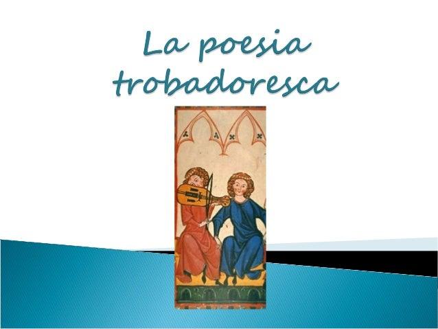  La primera manifestació literària en llengua  catalana va ser la poesia lírica popular  (relacionada amb la vida quotidi...